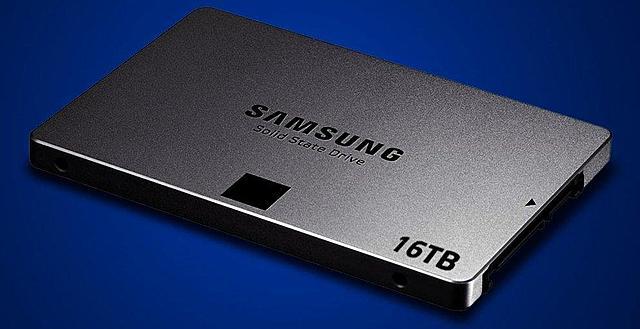 Samsung PM1633a SSD Flash NAND 16TB