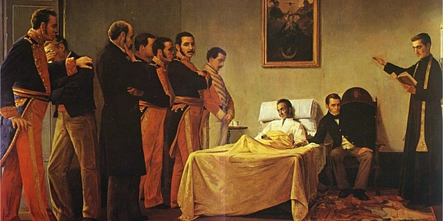 1830: Muere Simón Bolívar