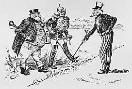 1823: aparece la doctrina monroe américa para los americanos