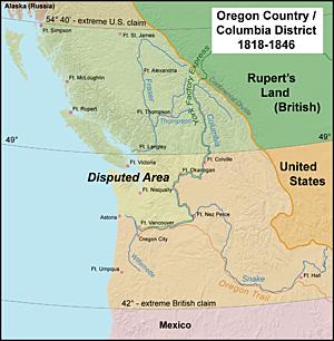 1846: Tratado de Oregón