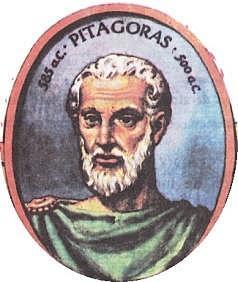 Pitágoras, (582-497 a.C.)