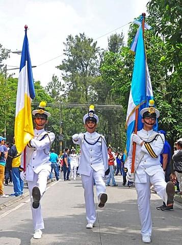 Desacato de prohibición de desfile de independencia