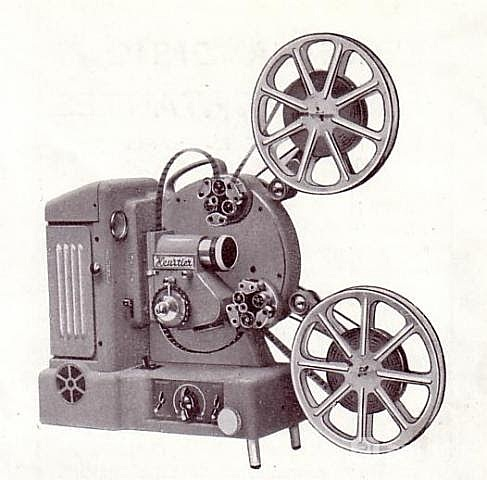 Tiras de Películas en Proyector