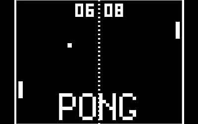 máquina recreativa Pong