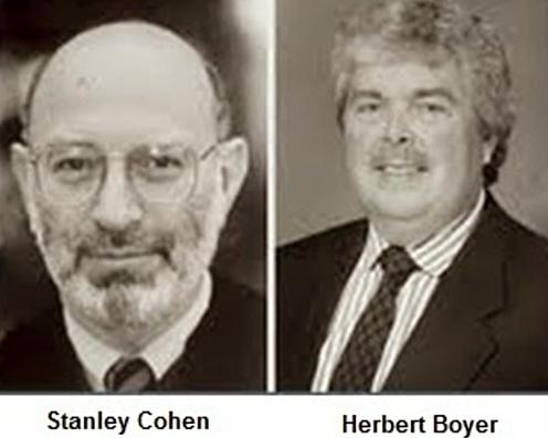 """""""Transferencia de RNAr"""" - Herbert Boyer y Stanley Norman Cohen"""