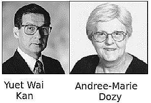 """""""Fragmentos de Restricción de Longitud Polimórfica"""" - Yuet Wai Kan y Andree-Marie Dozy"""