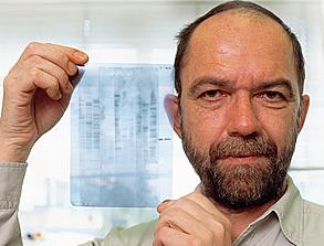 """""""Genome Fingerprintings"""" - Alec John Jeffreys"""