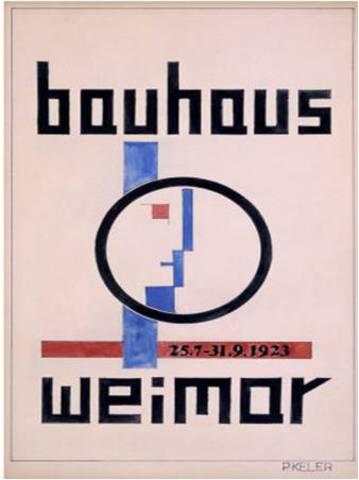 Acaba la Bauhaus
