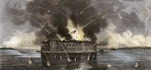 The Firing on Fort Sumter