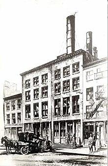 1890: iluminación eléctrica en New York