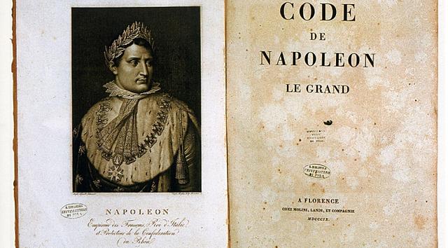 Il Codice Napoleonico