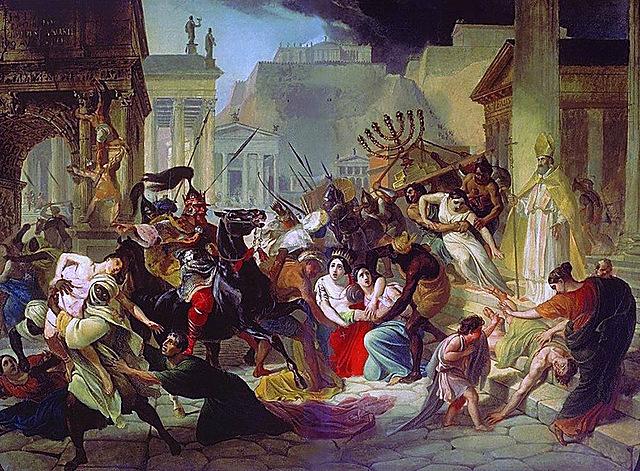 (Wine) Western Roman empire Falls