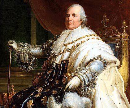 1815: El nuevo rey Francés es Luis XVII.