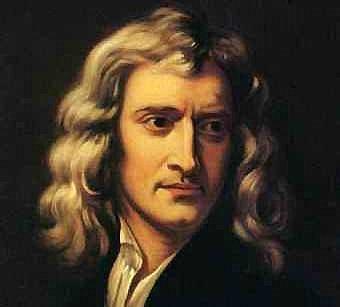 Newton a sus 26 años