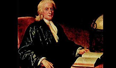 fallece Isaac Newton