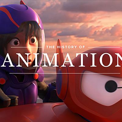 Historia de la animación timeline