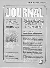 Grady, en el American Journal Dental, publica un articulo sobre como identificar personas por sus dientes.