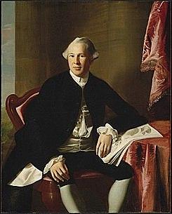 Paul Revere, hizo el reconocimiento de Joseph Warren, quien murió en batalla, mediante un puente de plata con colmillos de hipopótamo.
