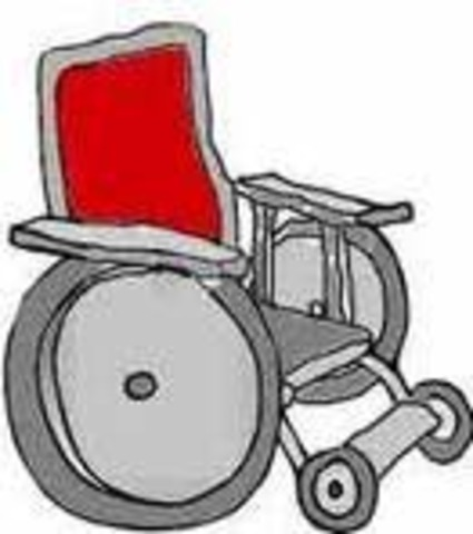 George J. Klein invents the electric wheelchair