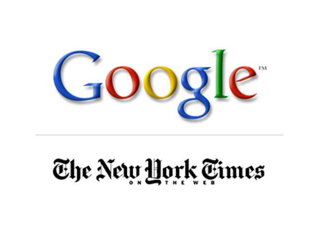 The New York Times company denuncia a Googlezon