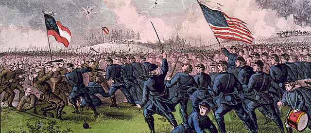 The Union Army is quickly demobilized