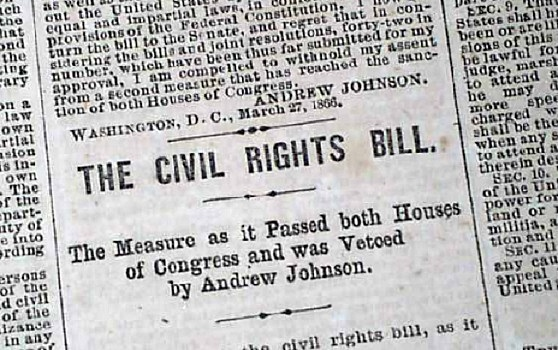 Another piece of moderate Republican legislation, the Civil Rights Bill