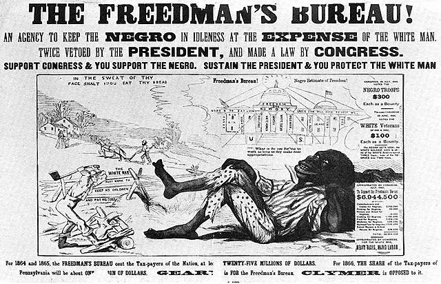 Congress re-passes its supplemental Freedmen's Bureau Bill