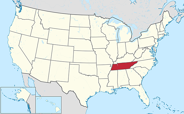 Tennessee is the first former Confederate state readmitted to the Union