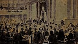 The North Carolina legislature holds a whiskey party