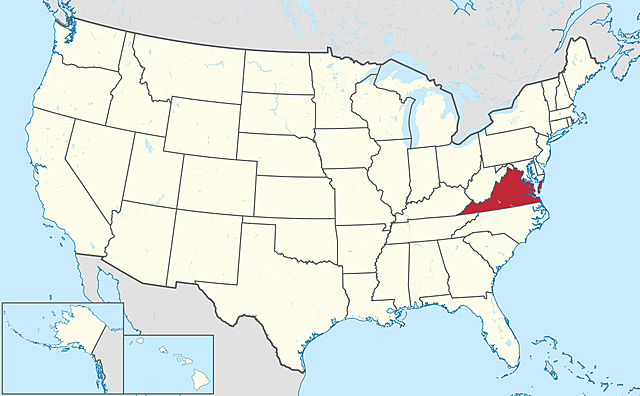 Virginia is readmitted to the Union