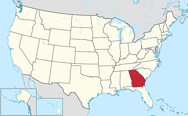 Georgia is the last former Confederate state to be readmitted to the Union.