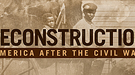 Reconstruction timeline