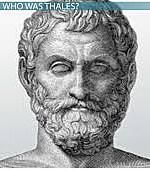 First Greek mathematician was said to be Thales.
