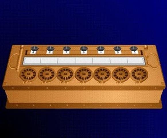Dos inventores construyeron una máquina calculadora basada en los números binarios 1 y 0.