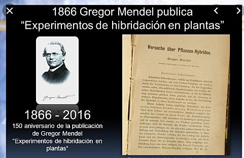 Mendel presentó sus trabajos