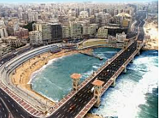 Greek flourished in northern Egypt in Alexandria named for Alexander the Great.