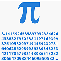 Archimedes shows that Pi is between 3 10/71 and 10/70.