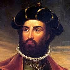 Vasco da Gama sejler som den første fra Europa syd om Afrika