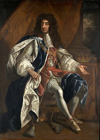 (Coffee) Accession of Charles II