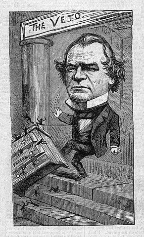 Senate Overriding Johnson's Vetos