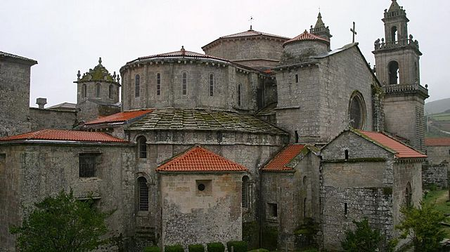 Monasterio en Galia