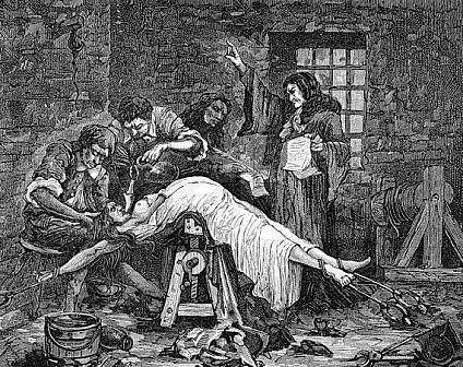 El martirio de las brujas
