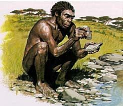Aparición del Homo habilis - hace 2,5 millones de años hasta 120.000 a.C