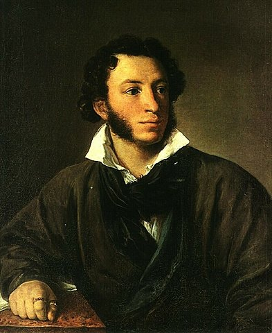 "Тропинин В. А. (1776-1857) ""Портрет Александра Сергеевича Пушкина"""