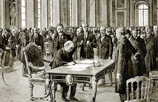 The treaty of london is signed