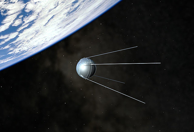 La Unión Soviética lanza el Sputnik I