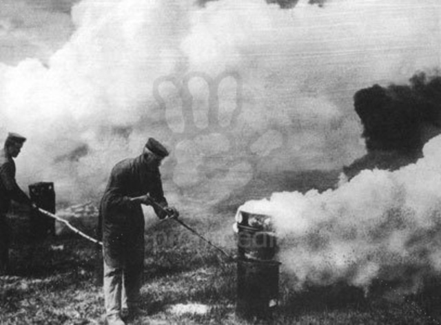 Poison Gas is first used on the Western Front,