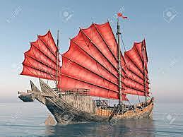 Kineserne sejlede til Afrika