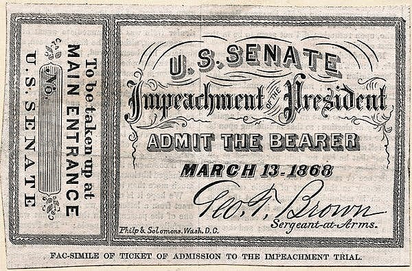 Johnson gets Impeached