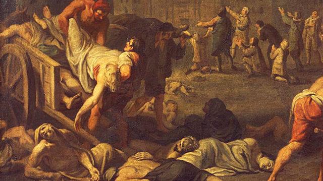 La peste Negra en Europa